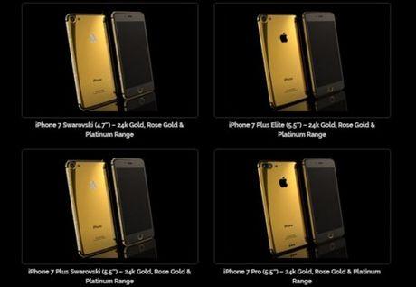 iPhone 7 co 3 phien ban, khai tu mau 32GB - Anh 1