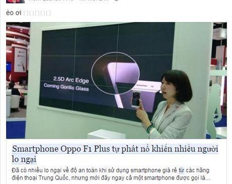 Smartphone Oppo F1 Plus tu phat no khien gioi tre Viet lo lang - Anh 4