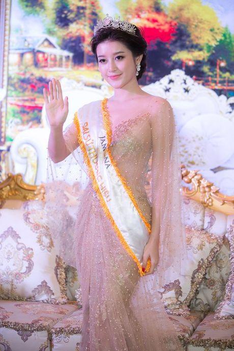 Hoa hau Viet Nam 2016: A hau Huyen My lai khien fan mat ngu vi qua doi xinh dep - Anh 2