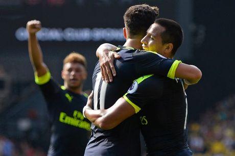 Sanchez ruc sang, Arsenal danh bai Watford - Anh 1
