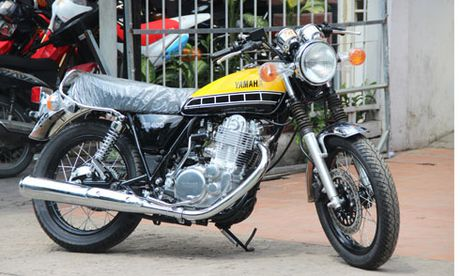 Yamaha SR400 ban dac biet gia hon 200 trieu tai Viet Nam - Anh 1