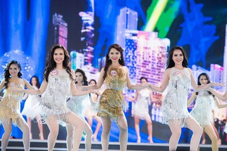 Truc tiep Chung ket Hoa hau Viet Nam 2016: Nong bong phan thi bikini - Anh 6