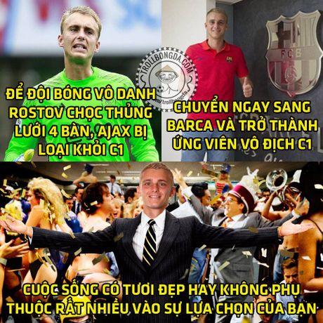 Fan Man United trao Qua bong vang cho Rashford, Guardiola dau hang Barcelona - Anh 5