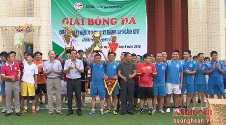 Giai bong da ky niem 71 nam Ngay thanh lap Nganh Giao thong Van tai - Anh 2