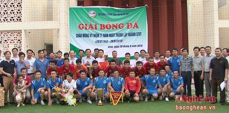 Giai bong da ky niem 71 nam Ngay thanh lap Nganh Giao thong Van tai - Anh 3