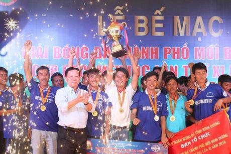 Be mac giai bong da phong trao quy mo nhat-Cup Becamex IDC 2016 - Anh 1