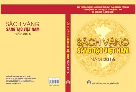 Sach vang sang tao Viet Nam nam 2016: Phat huy tiem nang sang tao Viet - Anh 2