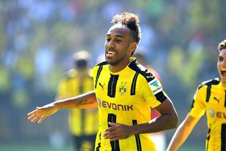 Aubameyang lap cu dup giup Dortmund thang Mainz 05 - Anh 1