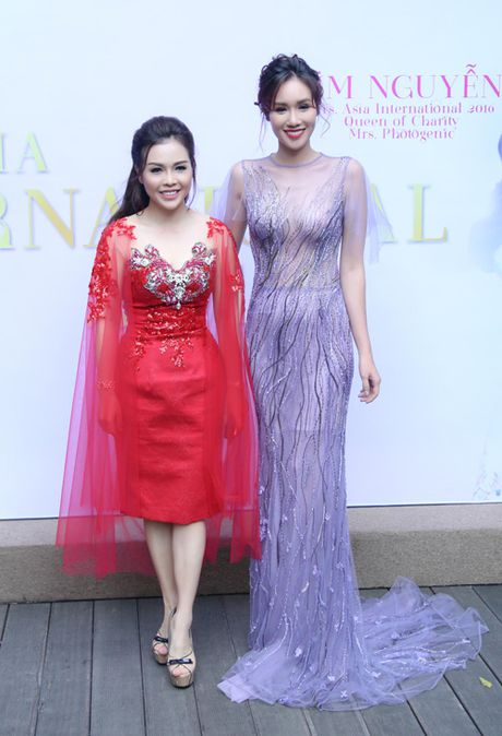 Xuan Lan du tiec chuc mung HH Quy ba chau A Kim Nguyen - Anh 4