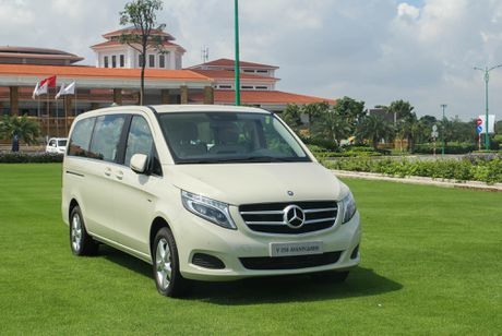 Chi tiet Mercedes V 250 gia 2,5 ty dong tai Viet Nam - Anh 1
