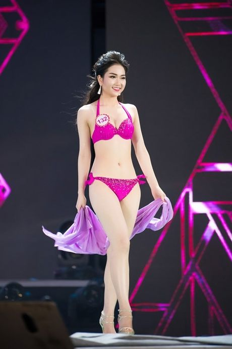 Man bikini nong bong chung ket Hoa hau Viet Nam 2016 - Anh 2