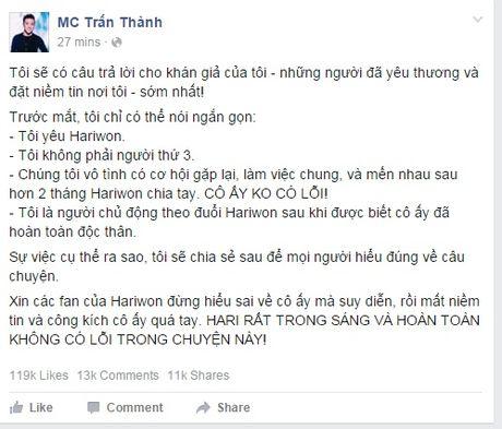 Hari Won va nhung thi phi tu khi yeu Tran Thanh - Anh 2