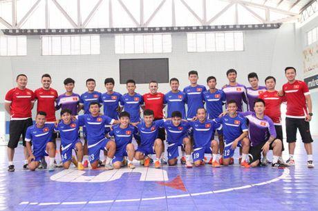 DIEM TIN TOI (10.9): Lo muc tieu cua DT futsal Viet Nam - Anh 1