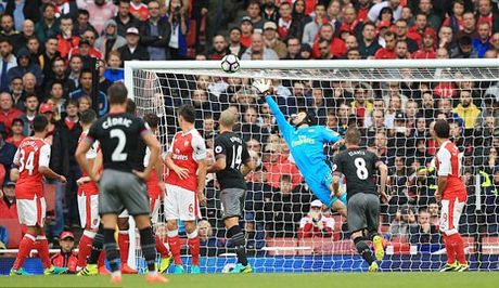 Arsenal 1-1 Southampton: Koscielny lap sieu pham (H2) - Anh 1