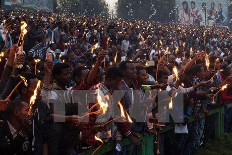 Ethiopia: Hon loan tai le hoi khien it nhat 50 nguoi thiet mang - Anh 1