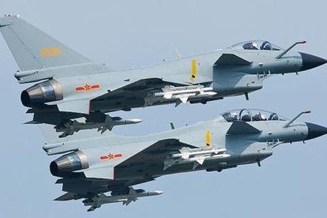 May bay chien dau J-10 cua Trung Quoc roi xuong cong vien - Anh 2