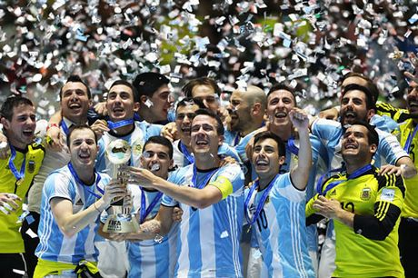 Argentina vo dich Futsal World Cup 2016, Iran gianh giai 3 - Anh 1