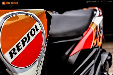 Honda Click 125i ban do Repsol 'sieu chat' tai Sai Gon - Anh 4