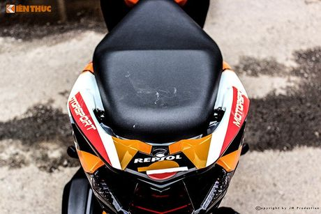 Honda Click 125i ban do Repsol 'sieu chat' tai Sai Gon - Anh 6