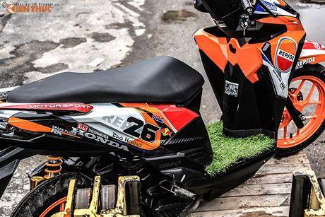 Honda Click 125i ban do Repsol 'sieu chat' tai Sai Gon - Anh 7