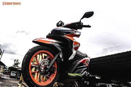 Honda Click 125i ban do Repsol 'sieu chat' tai Sai Gon - Anh 9