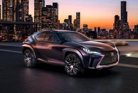 Lexus 'dap tra' BMW X2 voi crossover UX sieu hien dai - Anh 1