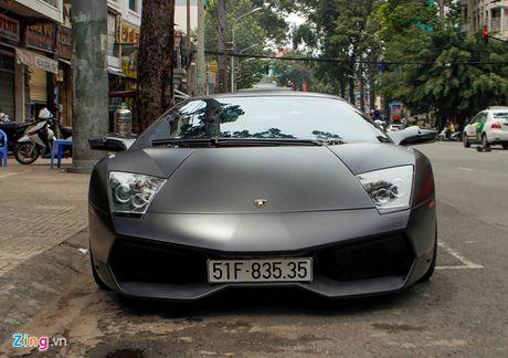 Lamborghini Mucielago 'kich doc' cua Minh nhua ve tay chu moi - Anh 1