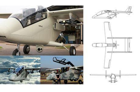 Suc manh kho tuong tuong may bay AHRLAC Nam Phi - Anh 4