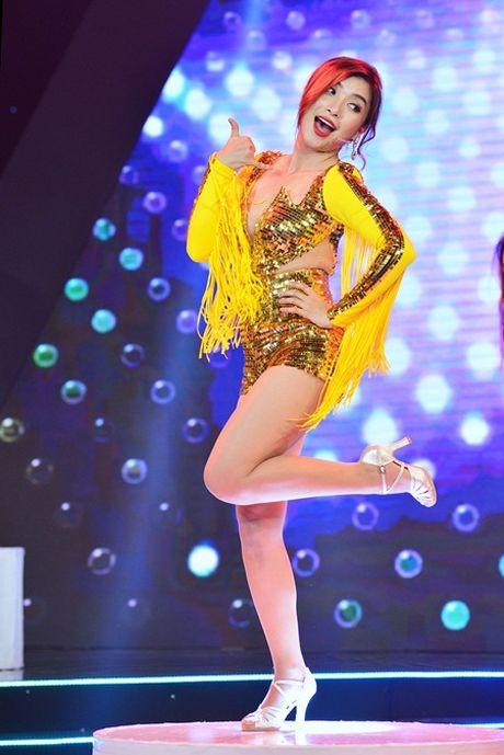 "Lam Truong nhay cuc sung ""xong dat"" minishow cua Am Nhac & Buoc Nhay - Anh 6"