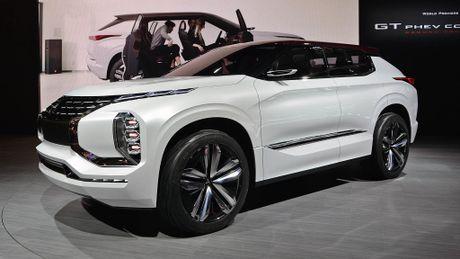 Moi xem bo anh Mitsubishi GT-PHEV Concept - Lieu co phai la tuong lai cua Mitsubishi? - Anh 14