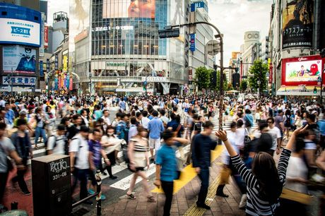 Chuan bi don Olympic 2020, Tokyo trien khai canh sat du lich - Anh 1