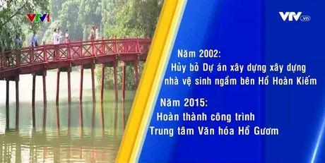 Nhieu du an quanh Ho Hoan Kiem bi tam dung hoac huy bo - Anh 1
