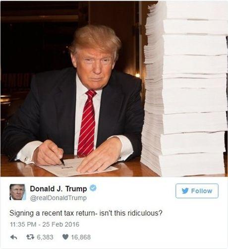 Bao New York Times lat tay ho so thue cua Donald Trump - Anh 1