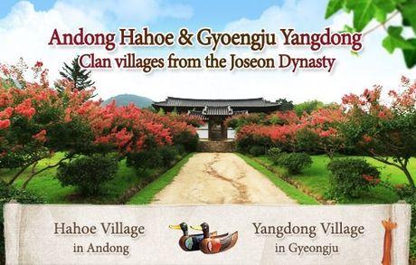 Doc dao van hoa Han Quoc qua cac lang lich su: Hahoe va Yangdong - Anh 3
