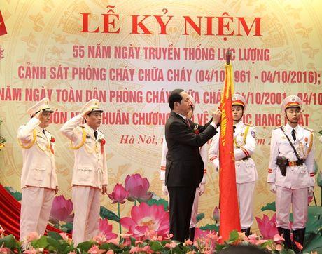 Ky niem 55 nam Ngay truyen thong luc luong Canh sat phong chay chua chay - Anh 6