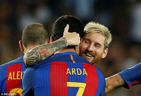 """Barca: Enrique da chon xong """"quan bai"""" dong the Messi - Anh 1"""