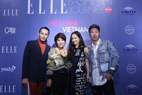 Dan Hoa hau, A hau 'do bo' tham do dem cuoi cua Elle Fashion Journey 2016 - Anh 3
