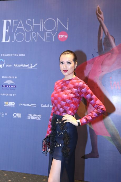 Dan Hoa hau, A hau 'do bo' tham do dem cuoi cua Elle Fashion Journey 2016 - Anh 4