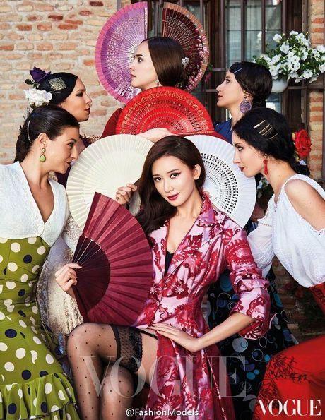 'Chan dai' Lam Chi Linh ruc lua trong vu dieu flamenco nong bong - Anh 2