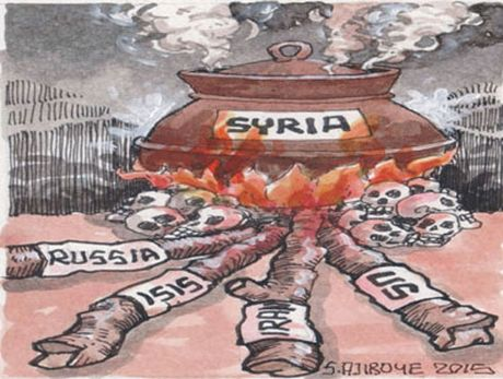 Giai phap hoa binh o Syria that bai, My - Nga leo thang cang thang moi - Anh 1