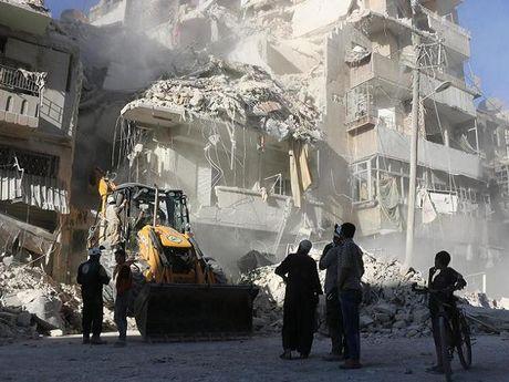 Cac quoc gia Vung Vinh keu goi LHQ can thiep cham dut tan cong tai Aleppo - Anh 1
