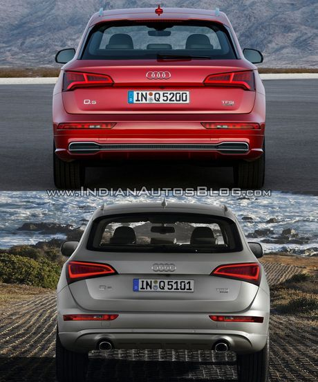 So sanh nhanh Audi Q5 doi 2017 va 2013 - Anh 3