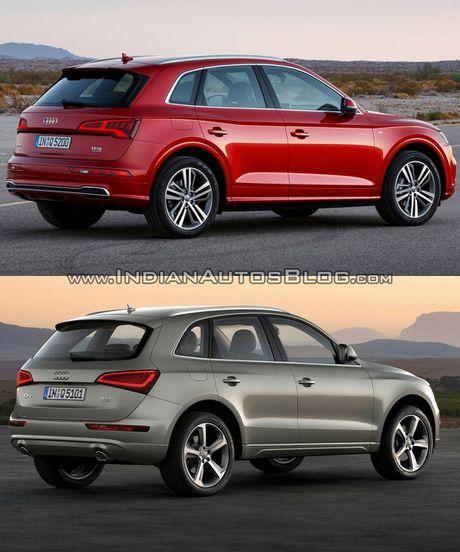 So sanh nhanh Audi Q5 doi 2017 va 2013 - Anh 5