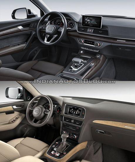 So sanh nhanh Audi Q5 doi 2017 va 2013 - Anh 6
