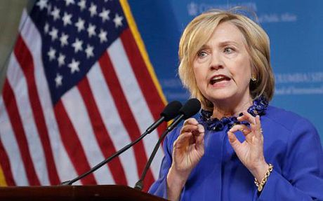 Bau cu My 2016: Quy van dong tranh cu cua ba Hillary Clinton dat so tien ky luc - Anh 1
