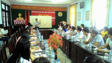 CD cac KCN tinh Nam Dinh: Tang cuong ky nang giai quyet tranh chap lao dong tap the - Anh 1