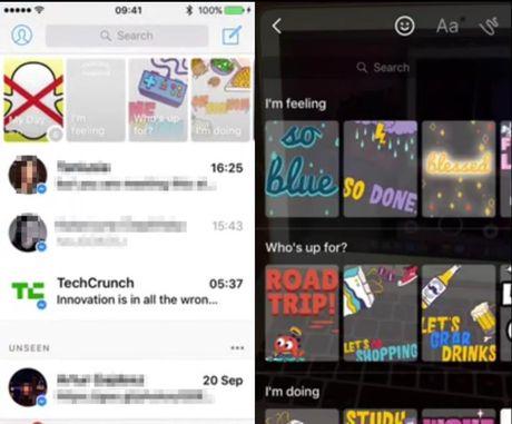 Facebook bat chuoc mot tinh nang tung khien hang trieu fan Snapchat bi 'nghien' - Anh 2