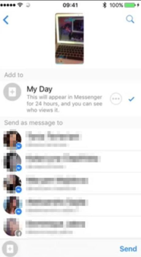 Facebook bat chuoc mot tinh nang tung khien hang trieu fan Snapchat bi 'nghien' - Anh 3