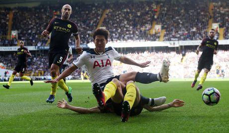 Tottenham 2-0 Man City: Pep Guardiola thua tran dau - Anh 11
