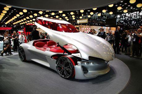 Top 10 sieu xe an tuong nhat tai Paris Motor Show 2016 - Anh 1